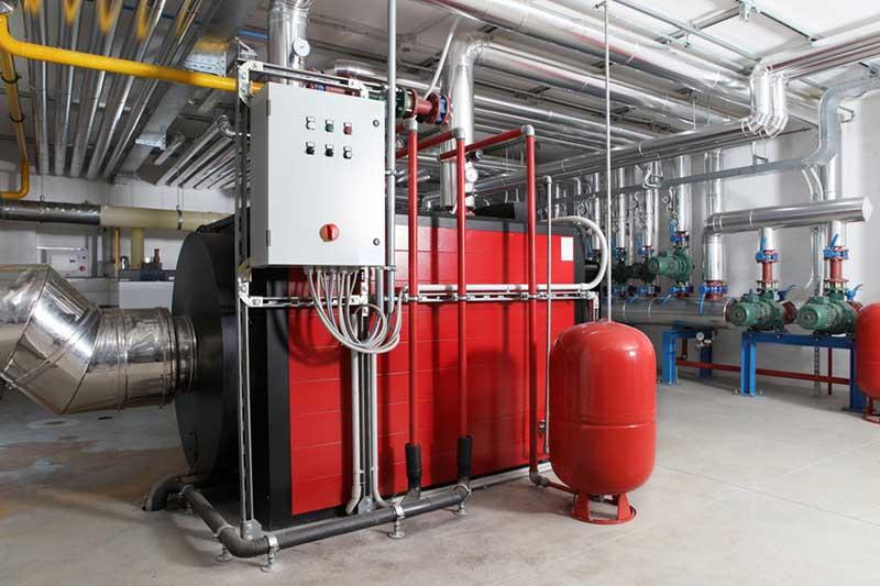Installation chaufferie industrielle Romans Bourg de Péage