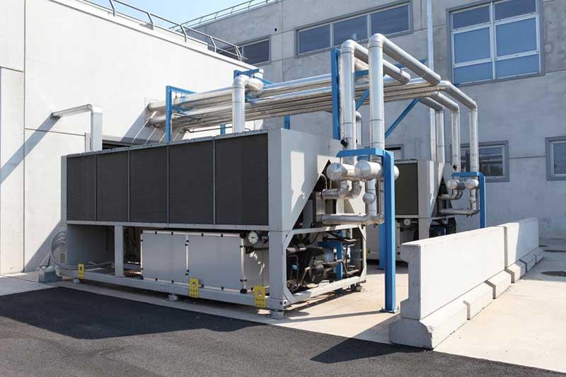 Installation pompe à chaleur pour secteur industriel Romans Bourg de Péage